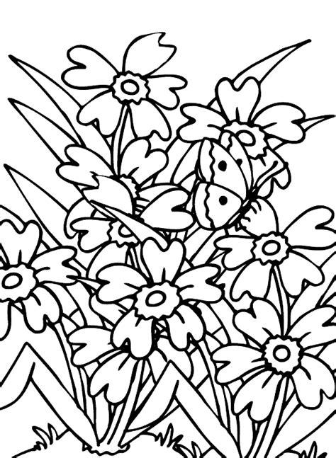 imagenes de flores sin pintar dibujos de flores para colorear y pintar 174 im 225 genes infantiles