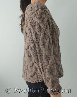 modern sweater knitting patterns ravelry 165 ultimate chunky cabled sweater pattern by