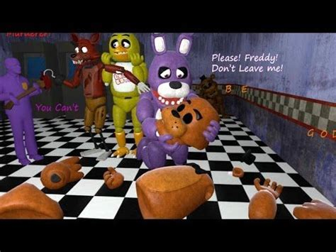 top 10 foxy five nights at freddy s animation compilation