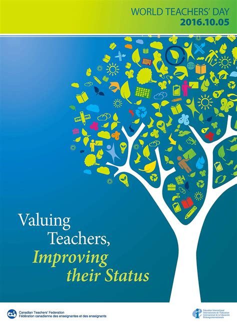 theme for education day world teachers day 2016 canadian teacher s federation