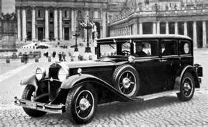 Who Invented The Mercedes The Evolution Of The Popemobile