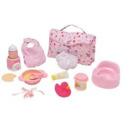 Large accessories set for 14 18 inch baby dolls corolle toys quot r quot us