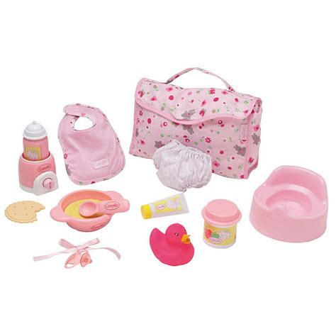 doll accessories corolle my baby doll accessory set for 12 inch baby