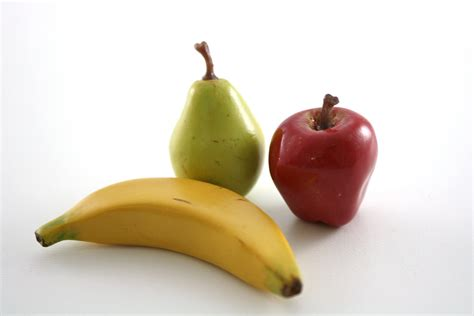 apple banana apple pear banana fruit assortment food for 18 inch dolls