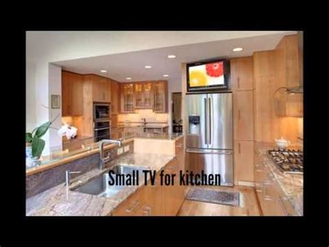 small tv for kitchen youtube