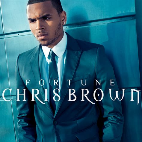 Brown Covers lilbadboy0 chris brown fortune album cover