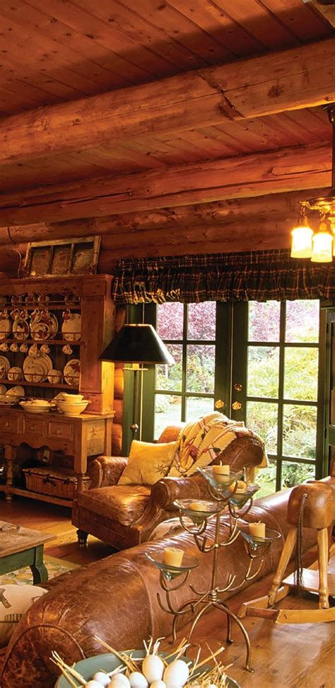 Log Homes Interiors Rustic Log Home Interior Cabin Of My Dreams