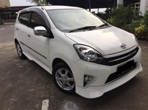 2013 Toyota Agya Trd S toyota agya trd s a t 2014 warna putih mobilbekas