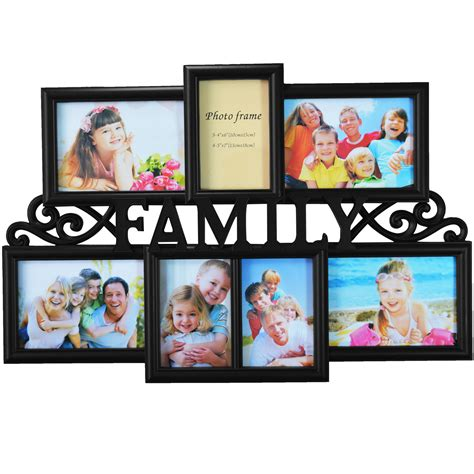 family shot aperture multi photoframe family love frames collage picture