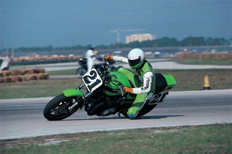 Kawasaki Eddie Lawson by Eddie Lawson Green Day Visordown