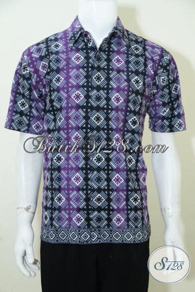 Dompet Wanita Azzurra Warna Ungu Kombinasi hem batik lengan pendek motif keren kombinasi warna hitam