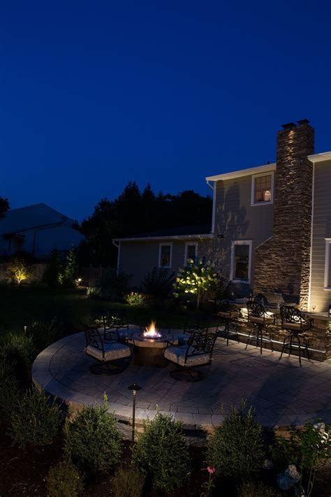 decorative landscape lighting landscape lighting security vs decorative
