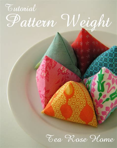 pattern weights tutorial tea rose home tutorial pattern weight with free pdf pattern