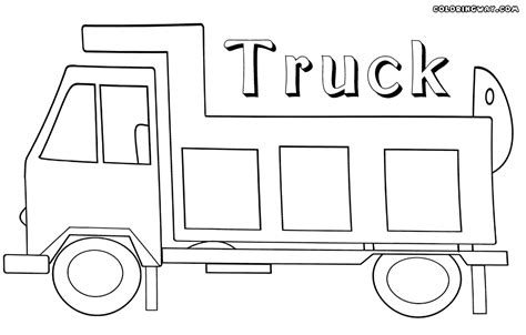 Simple Dump Truck Coloring Pages by Drawing Dump Truck Bodies Sketch Coloring Page