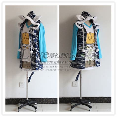 Vest Anime Casual Black Ct Vh 01 anime sonic costume dresstiger t shirt cat jacket skirt version
