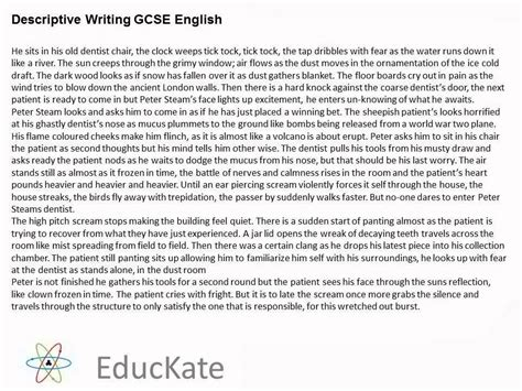 Creative Writing Essays by Creative Writing Essay Gcse Best Free Home Design Idea Inspiration