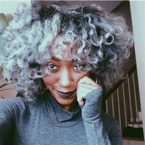 afro american gray hair 259 best images about colored women with colored hair on