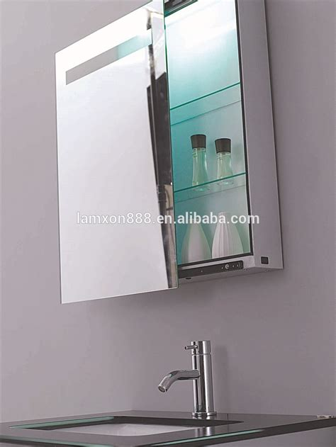 Electric Bathroom Mirrors Electric Bathroom Mirror Cabinet With Light Sliding Mirror Cabinet With Led Illuminated Buy