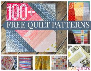 100 free quilt patterns for your home favequilts