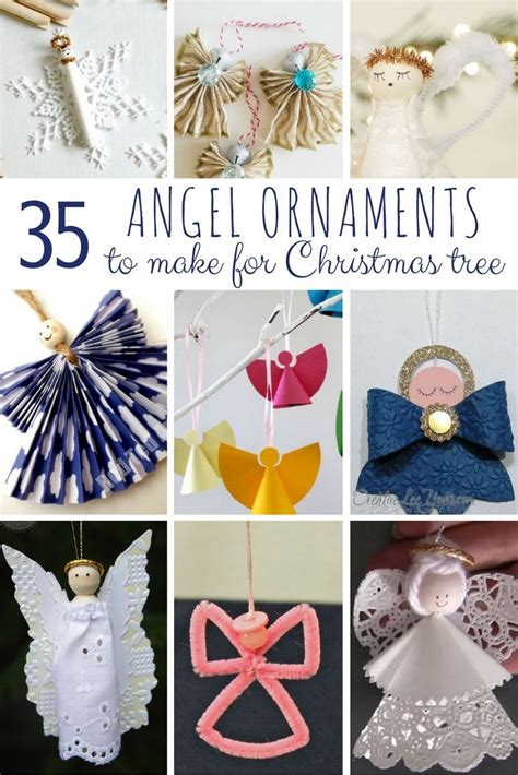 diy angel ornaments wantneedlove christmas