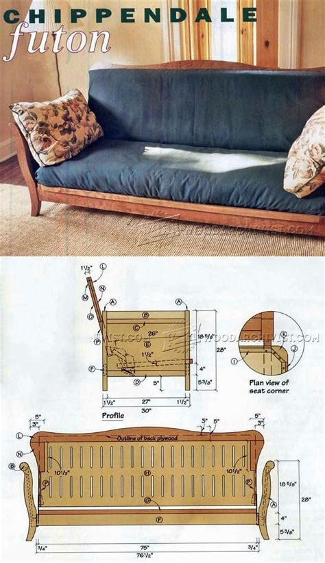 futon frame plans best 25 futon frame ideas on pinterest pallet futon