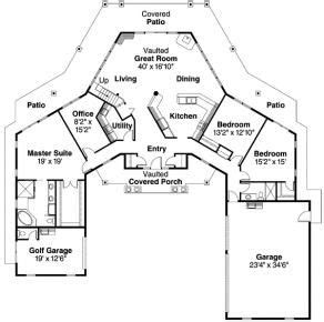 u shaped home with unique floor plan love a u shaped house house plans pinterest