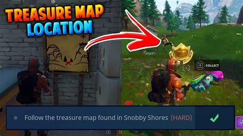 fortnite week 6 treasure map fortnite snobby shores treasure map location battle pass