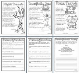 Personification Essay Exles by Literacy Resources Writing Posters Many Free Printables For Elementary And Primary Schools