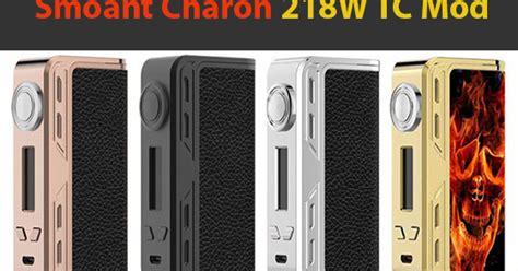 Harga Mod review harga dan spesifikasi mod smoant charon tc 218 vapeku