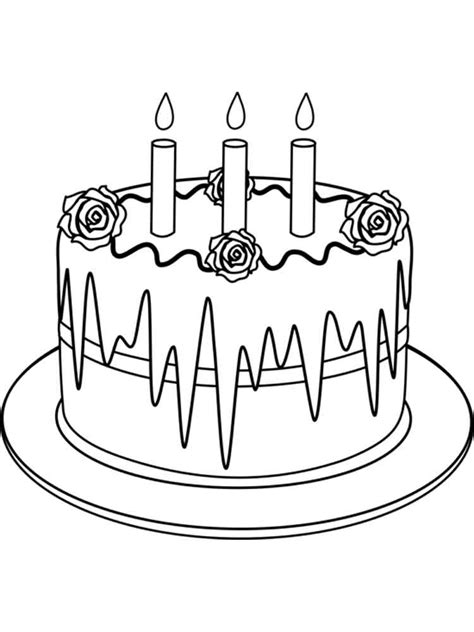 christmas cake coloring page 97 cake coloring pages birthday birthday cake coloring