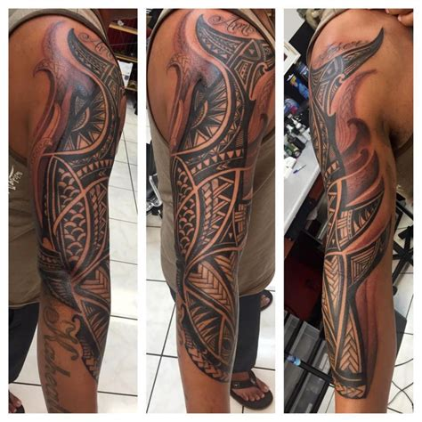 shading sleeve tattoo designs tribal tattoos 27 amazing designs we found on instagram