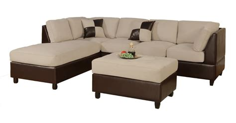 sofa sleeper sectional microfiber microfiber and leather sectional sleeper sofa with chaise