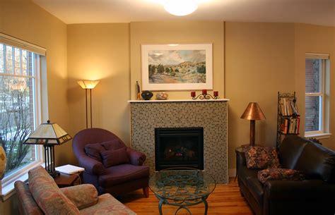 Living Room Without Fireplace Rawley Washington Park Remodel Denver Colorado Evstudio