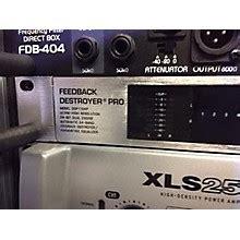 Behringer Feedback Suppressors Feedback Destroyer Pro Dsp1124p feedback suppression guitar center