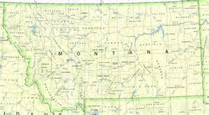 Montana Maps by Reisenett Montana Maps