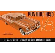 1955 Pontiac V8 Brochure