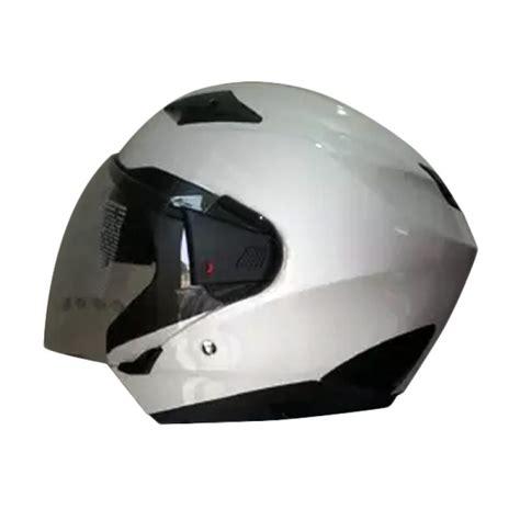 Helm Zeus 611 Jual Zeus Zs 611 Solid Helm Half White