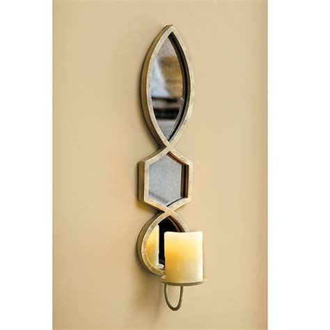 Candle Wall Sconces With Mirror Elise Candle Sconce Ballard Designs