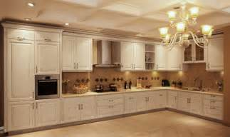 China Kitchen Cabinets by China Germany Imported Pvc Membrane Kitchen Cabinets V