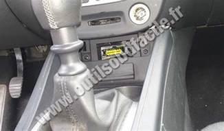 Renault Fluence Obd Location Obd2 Connector Location In Renault Megane 3 2008 2016