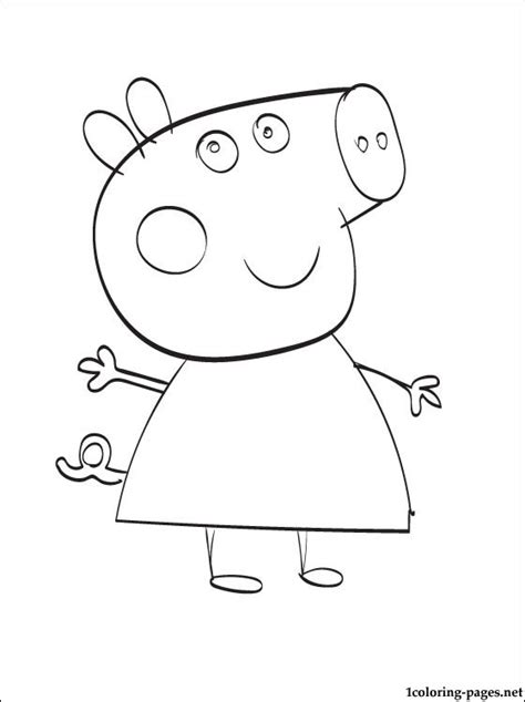peppa pig halloween coloring pages peppa pig halloween coloring pages