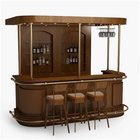 bar counter 3d model bar counter