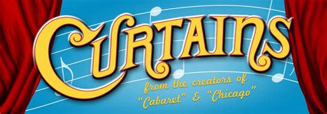 curtains the musical the village light opera group ltd
