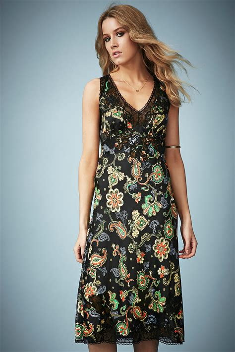 Kate Moss For Topshop Closer Look Floral Dress by Kate Moss Topshop Floral Dress