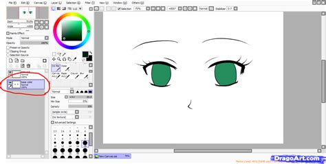 how to color paint tool sai step by step coloring anime draw japanese anime draw