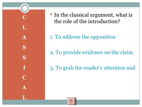 50 Argument Essay Topics by How To Write A Classical Argument