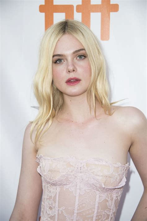 elle fanning elle fanning at mary shelley premiere at 2017 toronto