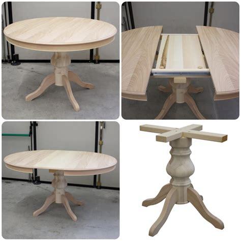 pratelli mobili tavoli rotondi grezzi  basamento