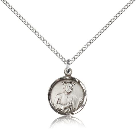 jude medal pendant silver plated necklace auto