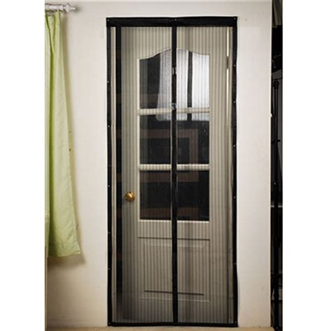 Patio Door Screens Magnetic Mosquito Door Net Mesh Screen Bug Fly Pet Patio Free Magnetic Magic Closer Ebay